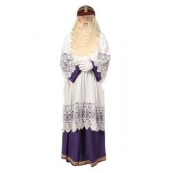 Sinterklaas habijt paars-wit