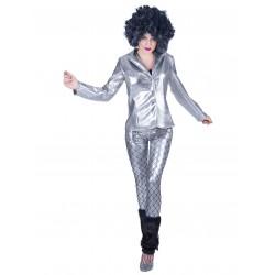 Disco fever jacket zilver