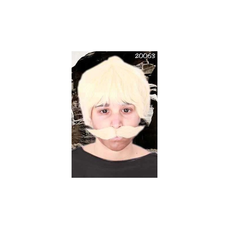 Snor dik blond