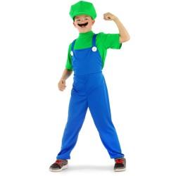 Kostuum Luigi kind