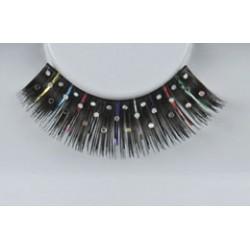 Wimpers 309 zwart glitter