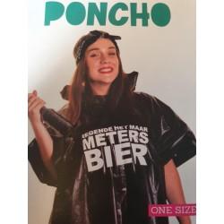 Regen poncho - Meters bier