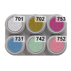 Water make-up pallet 6 kleuren pearl