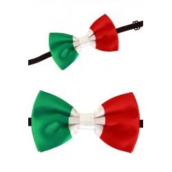 Strikje Italiaanse vlag