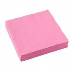 Servetten new pink 33x33