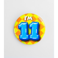 Button - 11 jaar