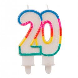 Cijferkaars 20