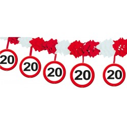 Slinger verkeersbord 20