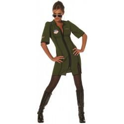 Piloot jurkje groen