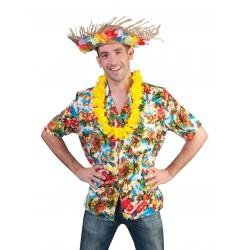Overhemd hawai multi