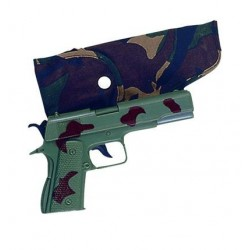 Pistool camouflage in holster