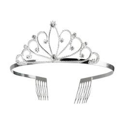 Tiara zilver koningin
