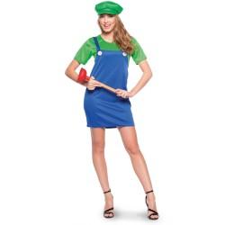 Super loodgieter dames groen