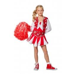 Cheerleader rood kind