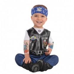 Kostuum Baby Biker