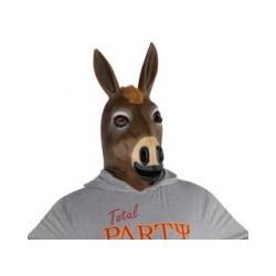 Latex masker paard