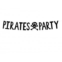 Letterslinger 'Pirates Party'