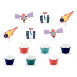 Cupcake kit space party
