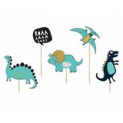 Cake topper dinosaurus