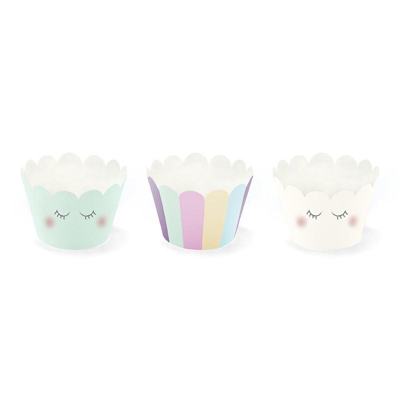 Cupcake wrapper unicorn