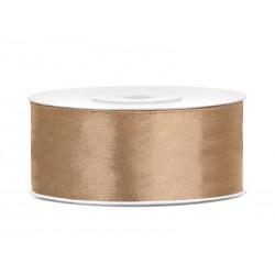 Satijnlint 25mm goud