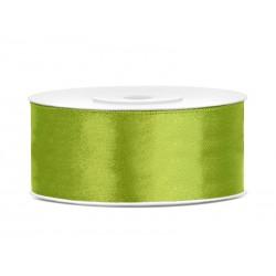 Satijnlint 25mm groen