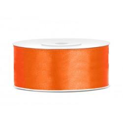 Satijnlint 25mm oranje