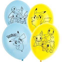 Latex ballonnen Pokémon