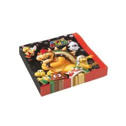 Servetten Super Mario