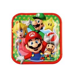 Gebaksborden Super Mario
