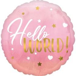 Heliumballon geboorte meisje