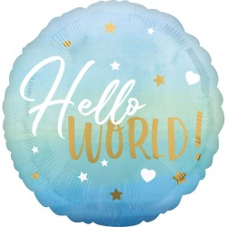 Heliumballon geboorte jongen