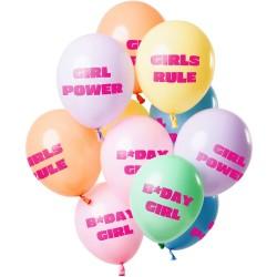 Ballonnenset power girl