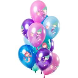 Ballonenset zeemeermin