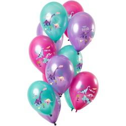 Ballonnen dino roze