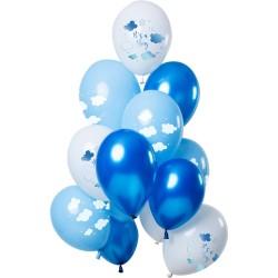 Ballonnenset wolken jongen