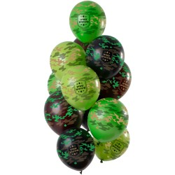 Ballonnenset camouflage