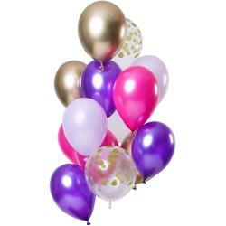 Ballonnenset Purple posh