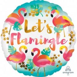 Heliumballon flamingo standaard