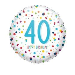 Heliumballon stippen 40 standaard