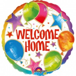 Heliumballon Welcome Home standaard