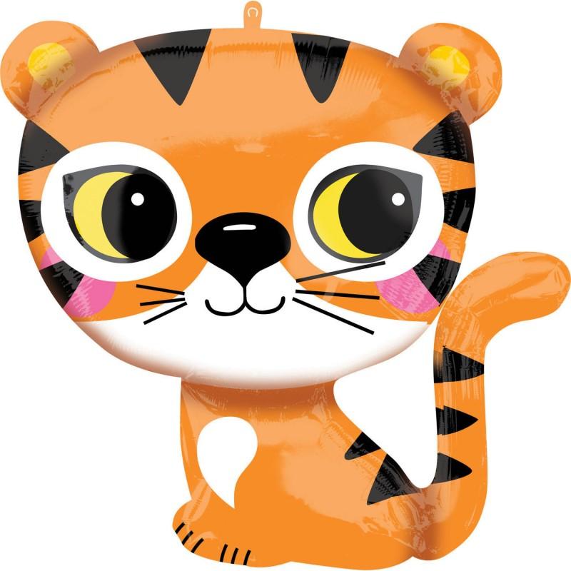 Heliumballon tijger jumbo