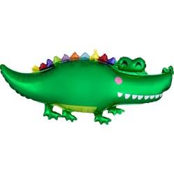Heliumballon krokodil jumbo