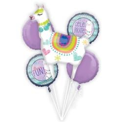 Heliumballonnen boeket Lama