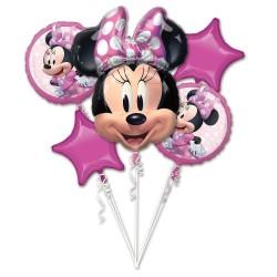 Heliumballonnen boeket Minnie Mouse