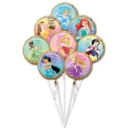 Heliumballonnen boeket Disney Prinsessen