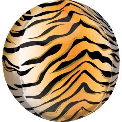 Heliumballon Orbz tijger