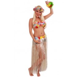 Hawai rok  naturel 80 cm.