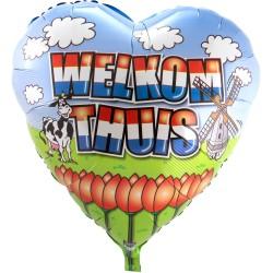 Heliumballon Welkom Thuis jumbo
