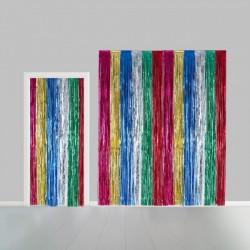 Deurgordijn multicolor